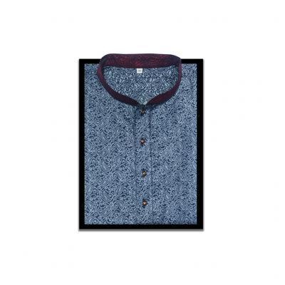 Rouen Fabric Punjabi Blue