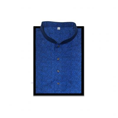 Rouen Fabric Punjabi Navy Blue